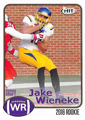 Jake Wieneke Football Card (South Dakota State) 2018 SAGE HIT Draft Rookie #2