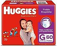 Fralda Huggies Supreme Care Roupinha G - 60 fraldas