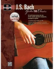 Basix Guitar Tab Classics - J. S. Bach: Book and Online Audio