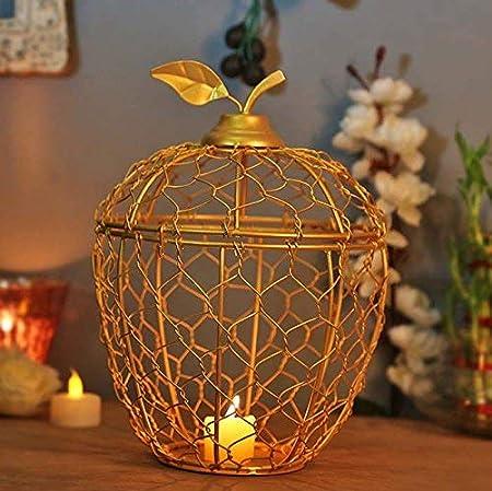 Jaula de manzana dorada para decoración de boda, regalo de boda ...