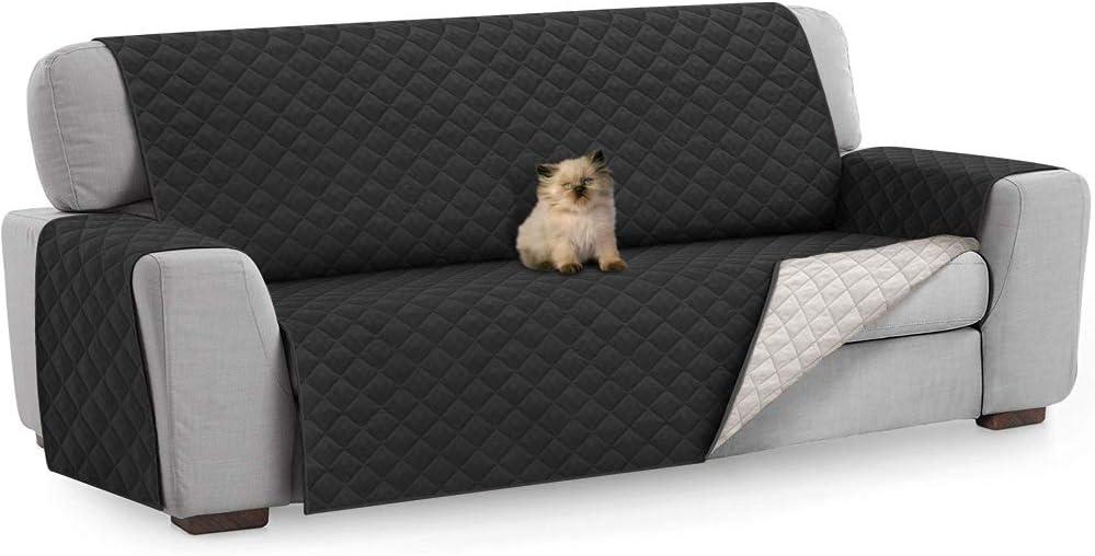 FREESOO Copridivano Antiscivolo Impermeabile Fodere Copridivano per Animali Domestici Gatti Cani Protezione del Divano Singolo Posto Beige