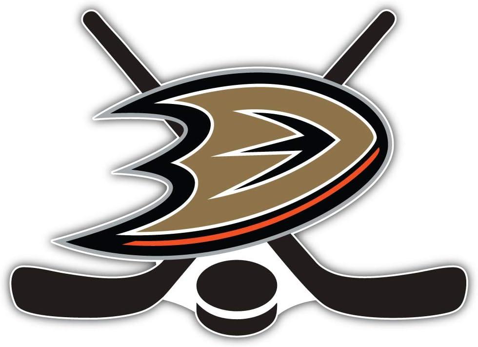 Anaheim Sticks Sport Car Bumper Sticker Decal 5 X 4 hotprint Ducks Hockey