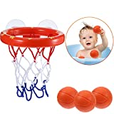 Best Bathtub Toy With Balls - Jovitec Basketball Hoop and Balls Playset for Boys Review