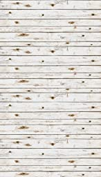 Ella Bella Photography Backdrop Paper, 4-feet x 12-feet, White Washed Wood