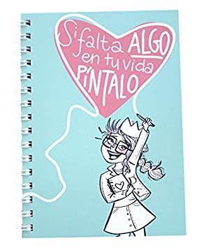 Pedrita Parker 00033 - Libreta A5, color azul: Amazon.es ...