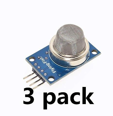 MQ-5 Detector de módulo electrónico con Sensor de Gas Natural licuado de metano,