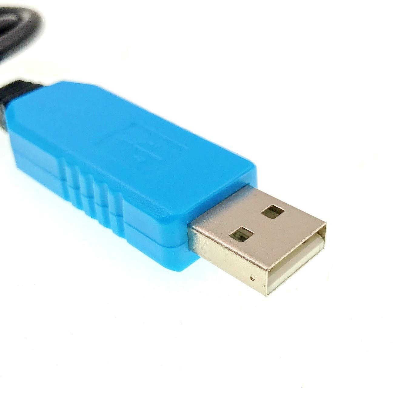 JZK 3 x PL2303TA Cavo di debug convertitore da Cavo seriale USB a Ttl per Raspberry Pi Arduino 8.1Mac OS 7//8 supportato per Windows XP//Vista