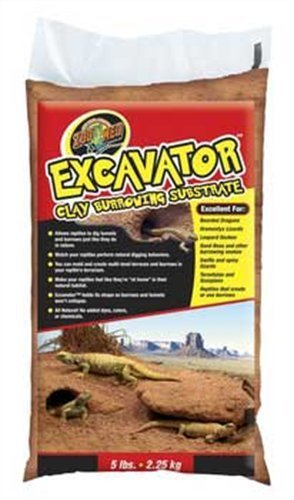 Zoo Med Excavator Clay Burrowing Substrate, 5 Pounds