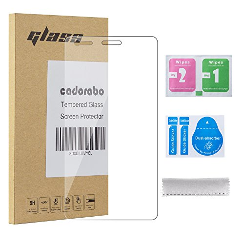 Cadorabo – Tempered Glass Bulletproof Glass Sony Xperia M Screen Protector Protective Film 0.3 mm Curved Edges – HIGH TRANSPARENCY