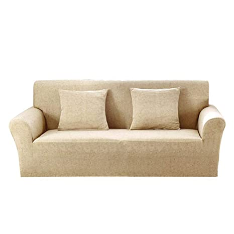 FOONEE Fundas de sofá, 1/2/3/4 plazas Poliéster Spandex ...