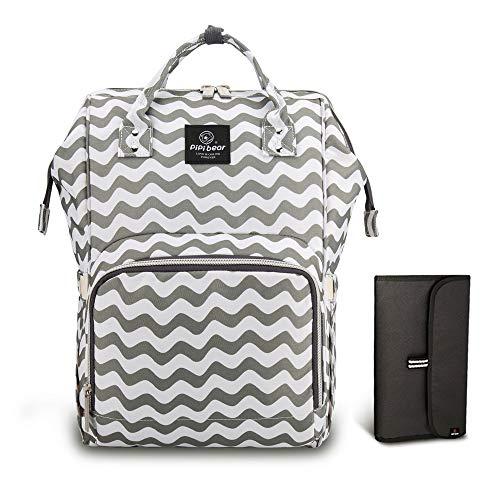 Travel Backpack Organizer HEYI Diaper Tote Bag Black