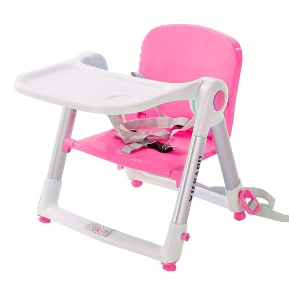 Baby High Folding Chair Multi-functional Portable Infant Toddler Feeding Booster Seat foreverwen