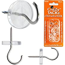 CraZy TACKz 00300 The Tack with a Round Clear Utility Hook