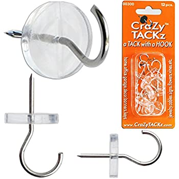 Crazy Tackz  The Tack with a Round Clear Utility Hook