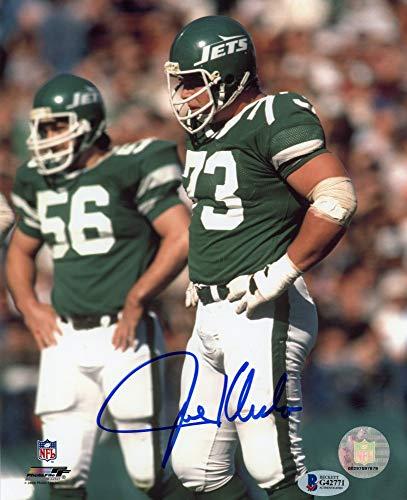 Joe Klecko Autographed New York Jets 8x10 Photo - BAS COA (Photo York New Jets 8x10)