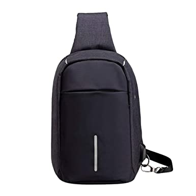 Amazon.com: Anti Theft Chest Bag Waist Bag Waterproof Men ...