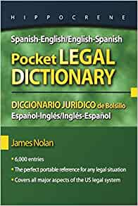 legal dictionary english spanish download