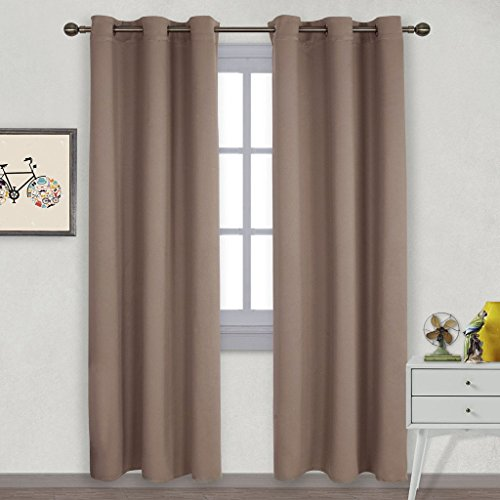 Nicetown Treatment Insulated Blackout Taupe Khaki product image