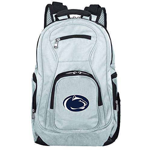 NCAA Penn State Nittany Lions Voyager Laptop Backpack, 19-inches, Grey