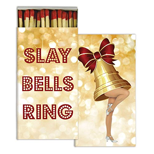 HomArt Slay Bells Ring Match Box Wooden Matches