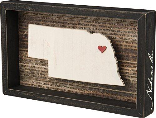 Primitives by Kathy Wanderlust Box Sign, 12.5
