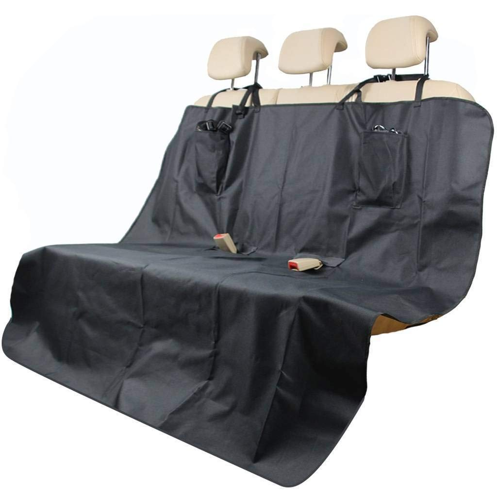 Mr E Saver/© Waterproof Heavy Duty Rear Black Pet Dog Cat Seat Cover Protector Hammock Boot Mat Liner 2in1 21BLK5428