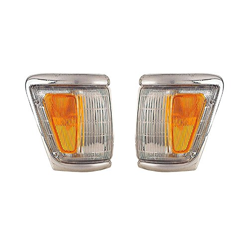 NEW PAIR OF SIDE MARKER LIGHT FITS TOYOTA PICKUP 4WD 92-95 TO2520129 81610-35120 8162035120 8161035120 TO2521131 81620-35120