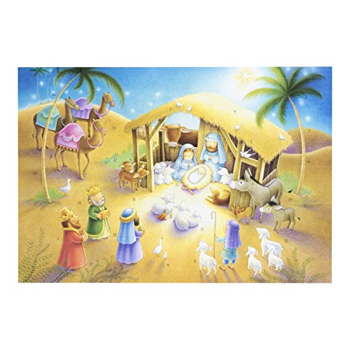 endar with Magnet - Jerusalem (Three Wise Men Christmas Card)