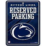 NCAA Hi-Res Metal Parking Sign