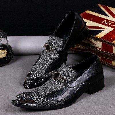 LHLWDGG.K Zapatos De Boda Del Novio De Los Hombres Zapatos De Vestir De 46 Hombres, Como Fotos 1,8.5 8.5|as pics 1