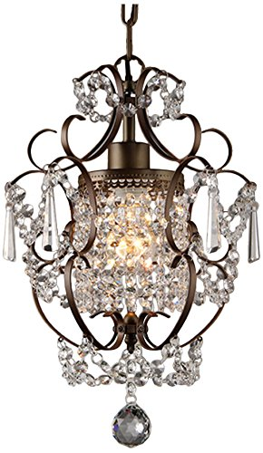 Whse of tiffany rl4025br rosalie 1 light antique bronze 11 crystal whse of tiffany rl4025br rosalie 1 light antique bronze 11quot crystal chandelier aloadofball Image collections