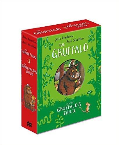 The Gruffalo Box Set The Gruffalo and the Gruffalos Child Ages 3+
