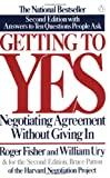 Getting to Yes, Roger Fisher and William L. Ury, 0140157352