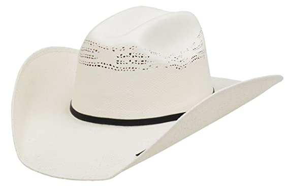 92ca71e1d41 Amazon.com  Alamo 3X Kids  Ash Bangora Straw Hat With Truman Crown ...