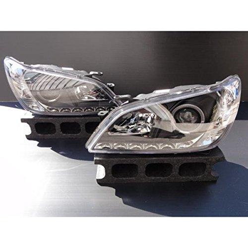 トヨタ LEDポジション&イカリング付き プロジェクターヘッドライト ヘッドランプ インナーブラック アルテッツァ アルテッツア  IS200  後期 B07DCPJTM4