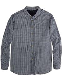 Men's Big & Tall Shrink-Less Long Sleeve Sport Shirt