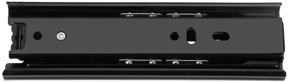 2 piezas Mini deslizadores de cajones cortos para muebles Riel gu/ía de extensi/ón completa Herrajes para armarios de cocina 4INCH Mini deslizadores de cajones cortos para muebles