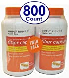 Member's Mark Therapy for Regularity/Fiber Supplement, 800 Count Fiber Capsules (Compare to the Active Ingredient in Metamucil) For Sale