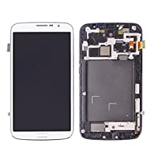 Replacement Pats, iPartsBuy LCD Display + Touch Screen Digitizer Assembly with Frame Replacement for Samsung Galaxy Mega 6.3 / i9200 / i9205 ( Color : White )