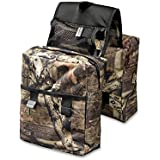COCO Durable Universal Mossy Oak Infinity Camouflage ATV Tank Bag Saddle Bag Waterproof Rack Bage with Great Add On