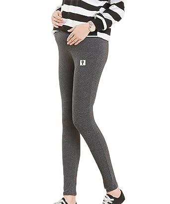 243d6d5651e15 Huateng Womens Pregnancy Elastic Pants,Stretch Maternity Wear Warm Cotton  Leggings: Amazon.co.uk: Clothing