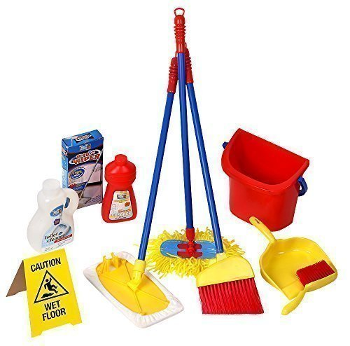 click-n-play-10-piece-kids-pretend-play-cleaning-set-water-bucket-cleaning-agent-bottles-broom-mop-d