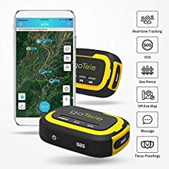 goTele is an off-grid outdoor tracking device specifically for outdoor enthusiasts and their friends, families, and pets to experience safe and exciting adventures. Everyone can check all (at most 30) group members' real-time positions and t...
