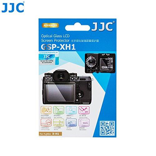 - JJC Anti-scratch Glass Screen Protector LCD Cover for Fujifilm X-H1 Fuji XH1 Camera, Includes Shoulder Screen / Sub-screen PET Film Protector