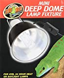 Zoo Med Mini Deep Dome Lamp Fixture with 5.5-Inch