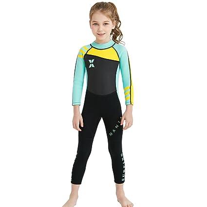 Traje de baño para niños nuevo Medias siamesas Traje de manga larga para  surf Trajes de 5ec346bdeeb7f