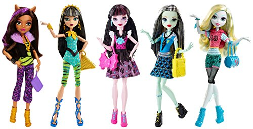 Monster High Best Ghoulfriends Doll Collection, 5-pack