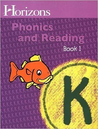 Amazon com: Horizons K Phonics and Reading (9780740301377
