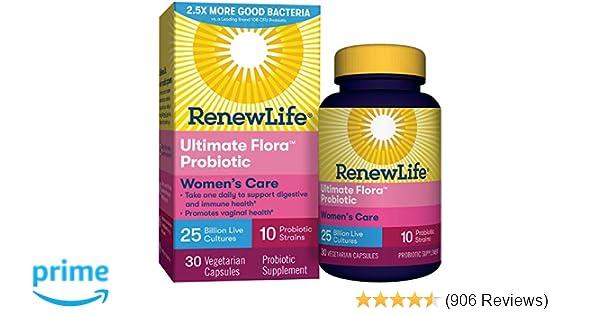 9fbfa8c72fd Amazon.com: Renew Life #1 Women's Probiotic - Ultimate Flora ...