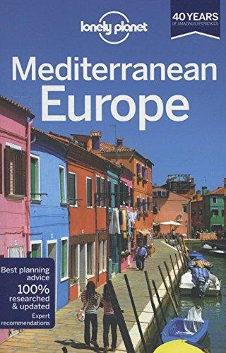 Lonely Planet Mediterranean Europe Travel